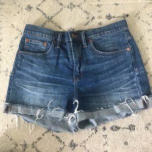 Higher waisted madewell shorts